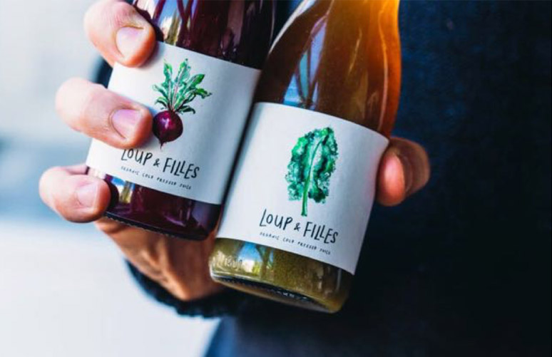 Loup & Filles Juices - Cold-pressed